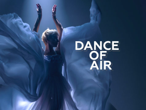 """Дизайн презентации """"Dance of Air"""""""